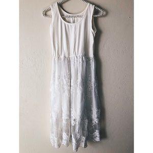 Base layer lace dress